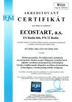 Certifikát ISO 45001:2019